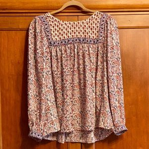 Gap patterned blouse